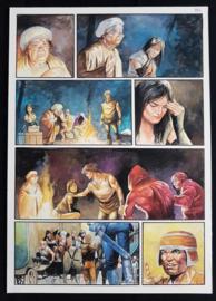 Apriyadi Kusbiantoro - originele pagina in kleur - de verloren verhalen van Lemuria - deel 3  - pagina 8 - 2017