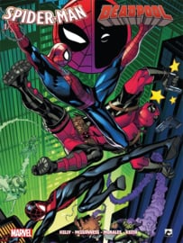 Spiderman vs Deadpool - deel 1/2  - Marvel - sc - 2021 - NIEUW!