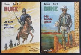 Duke - Combiset Deel 4+5 - Mijn laatste gebed / Je bent een Pistolero - hardcover LUXE gelimiteerd - Fantasia - 2020 / 2021 - Nieuw!