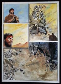 Apriyadi Kusbiantoro - originele pagina in kleur - Saul - deel 1 - de levende mantel - pagina 25 - 2017
