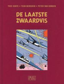 PRE-order - Blake en Mortimer - deel 28 - De laatste Zwaardvis  - hc luxe - linnen cover - 2021 - Nieuw!