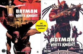 Batman - Curse of the white knight - delen 1 en 2  premiumpack - DC Blacklabel - sc - 2021 - Nieuw!