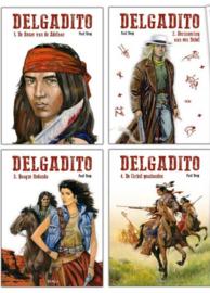 Delgadito Collector's pack - complete reeks 4 albums -  Hardcover - gelimiteerd 400 ex. - 2021 - Nieuw!