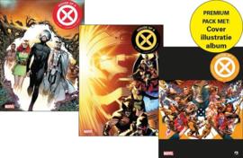House of X -Collectorspack - Delen 1+2 en extra Cover illustratie-album oplage 150 ex. - Marvel - sc - 2021 - Nieuw!