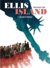 Ellis Island - Welkom in Amerika! - deel 1 - hc - 2021 - Nieuw!