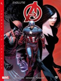 PRE-order - Marvel New Avengers - Journey Infinity -  deel 6 Evolutie - sc - 2021 - NIEUW!