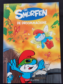 Smurfen - de droommachine -  deel 38 - sc - 2019