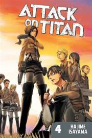 Attack on Titan - Manga Boxset - Season 1 part 1 - volumes 1 t/m 4 - sc - 2018