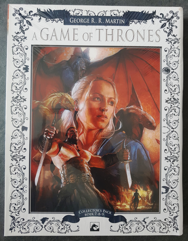 A Game of Thrones - Collector's Pack - delen 7 t/m 9 - oplage 100 ex. - 3x hc - 2015