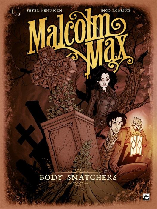 PRE-order - Malcolm Max - Body snatchers - deel 1 - sc - 2021 - NIEUW