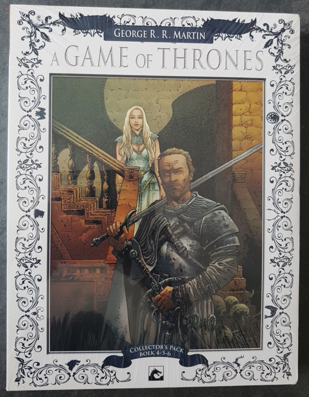 A Game of Thrones - Collector's Pack - delen 4 t/m 6 - oplage 100 ex. - 3x hc - 2013
