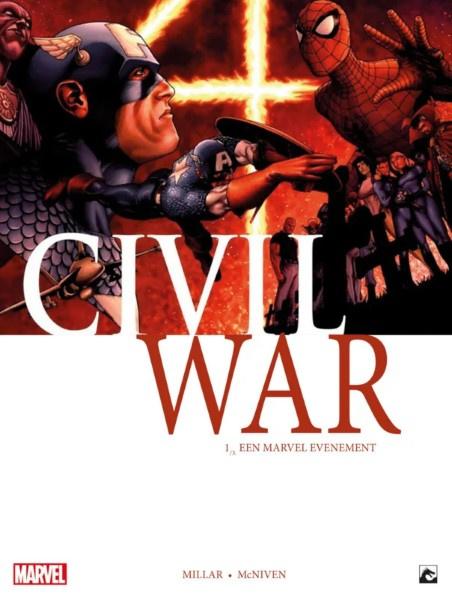 Civil War -  Aan welke kant sta jij?   -  deel 1   - sc - 2019