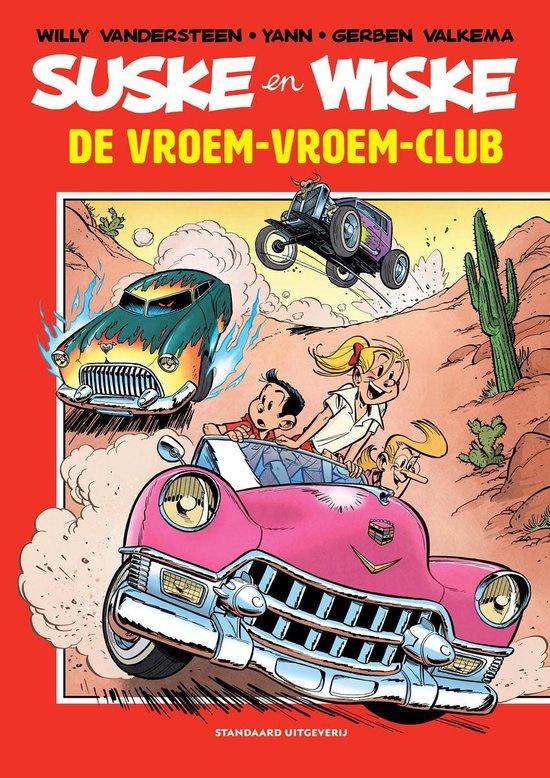 PRE-order - Suske en Wiske  - De Vroem-vroem-club - hommage reeks deel 5 - sc - 2021 - Nieuw!