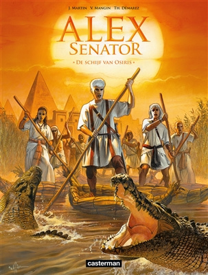 Alex Senator - deel 12 - De schijf van Osiris - sc - 2021 - Nieuw!