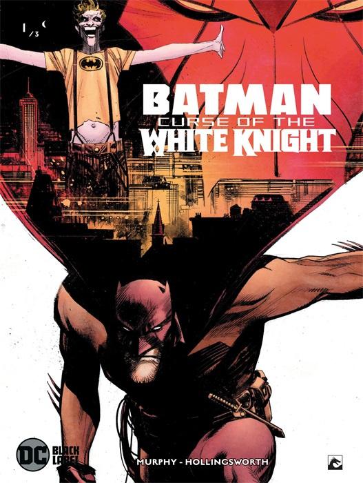 PRE-order - Batman - Curse of the white knight - deel 1/3  - DC Blacklabel - sc - 2021 - Nieuw!