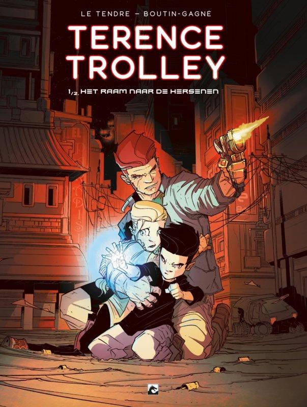 PRE-order - Terence Trolley - deel 1 - Het raam naar de hersenen -sc - 2021 - Nieuw!