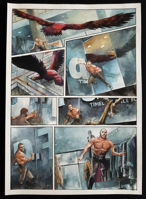Apriyadi Kusbiantoro - originele pagina in kleur - Saul - deel 2 - Eindstation - pagina 18 - 2019