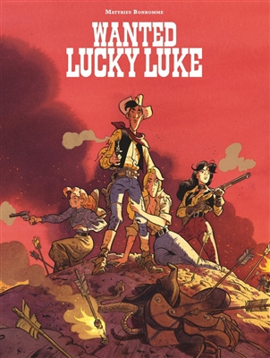 PRE-order - Lucky luke door 04. Wanted - lucky luke! - hommagealbum - sc - 2021 - NIEUW!
