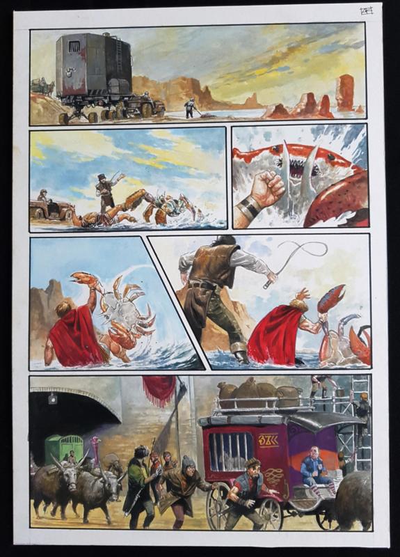 Apriyadi Kusbiantoro - originele pagina in kleur - de verloren verhalen van Lemuria - deel 3 - pagina 2 - 2017