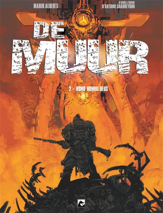PRE-order - De Muur - Homo Homini Deus - deel 2 - sc - 2021 - NIEUW!