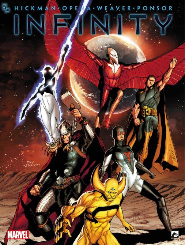 PRE-order - Marvel New Avengers -  Infinity -  deel 5  - sc - 2021 - NIEUW!