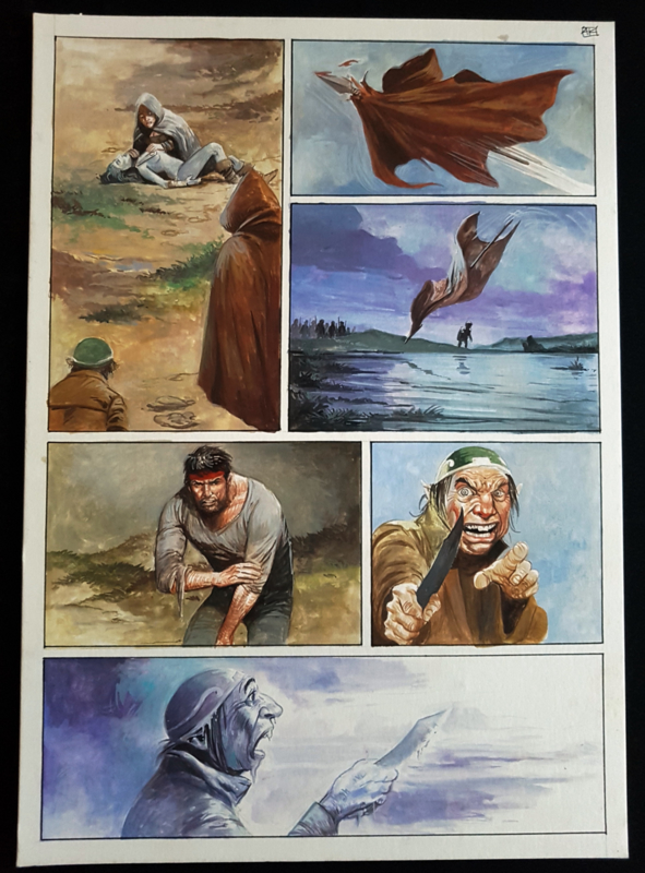 Apriyadi Kusbiantoro - originele pagina in kleur - Saul - deel 1 - de levende mantel - pagina 44 - 2018