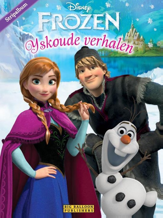 Frozen - IJskoude verhalen - Stripalbum - hc - 2015