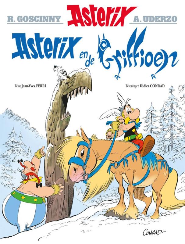 Asterix - Asterix en de Griffioen -  deel 39 - sc - 2021 - NIEUW!