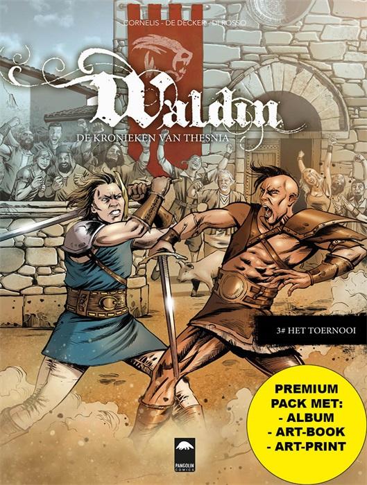 PRE-order - Waldin,  De kronieken van Thesnia CP  - Deel 3 - Het toernooi - + artbook en artprint sc - 2021 - NIEUW!