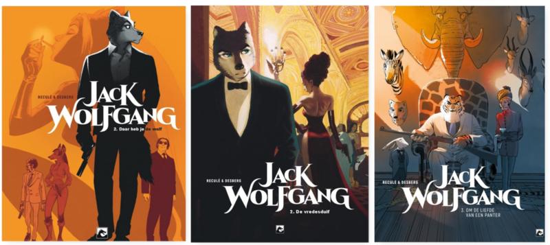 Jack Wolfgang  - Combinatie aanbieding: Collectors Pack: delen 1 t/m 3 gebundeld - sc - 2018-2019
