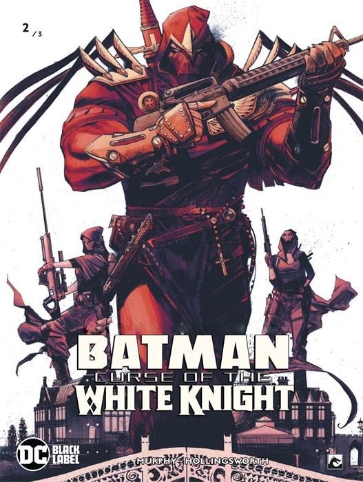 PRE-order - Batman - Curse of the white knight - deel 2/3  - DC Blacklabel - sc - 2021 - Nieuw!
