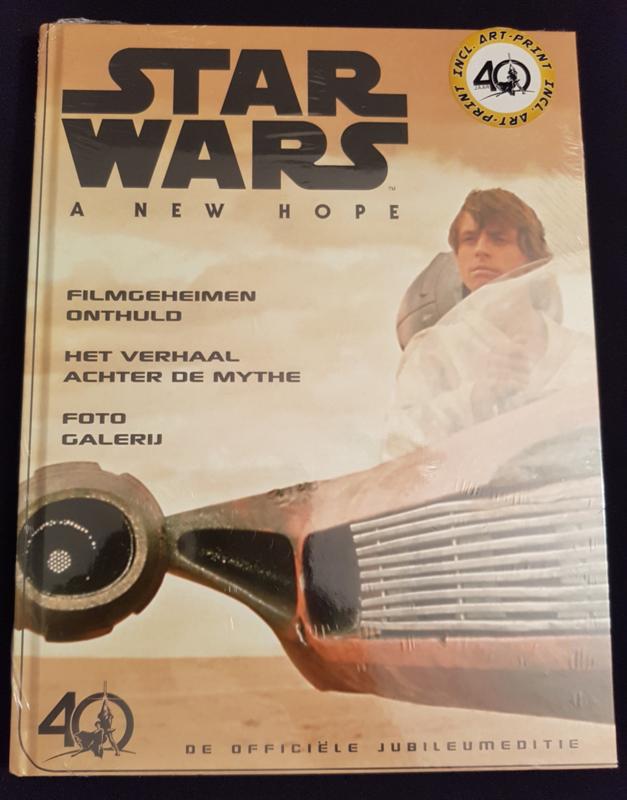 Star Wars - A new Hope - Filmboek - hc