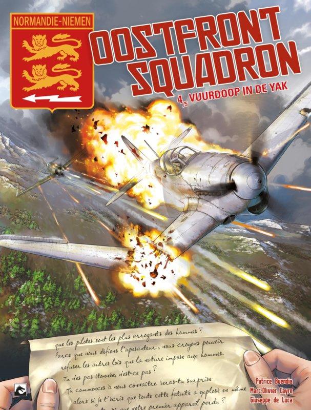 PRE-order - Oostfront squadron  - Vuurdoop in de Yak - deel 4 - sc - 2021 - Nieuw!