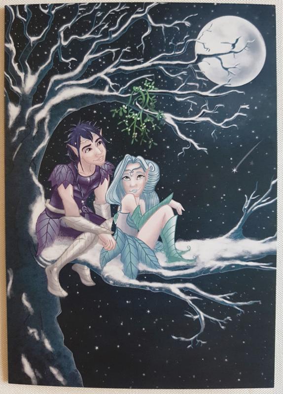 Wenskaart - Fantasy - Jessica Raes - gelimiteerde collectie