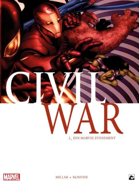 Civil War -  Aan welke kant sta jij?   -  deel 2   - sc - 2019