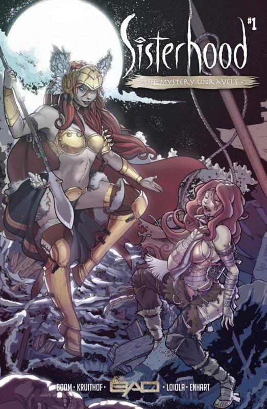 PRE-order - Sisterhood - The Mystery Unravels - extra art-print - ENG versie - sc - 2021 - Nieuw!