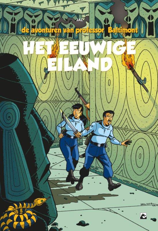 PRE-order - De avonturen van professor Baltimont - deel 2 - Het eeuwige Eiland  - hc - 2021 - NIEUW!