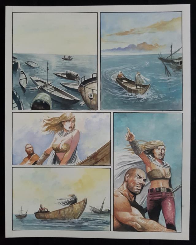 Apriyadi Kusbiantoro - originele pagina in kleur - Saul - deel 2 - Eindstation - pagina 11 - 2019