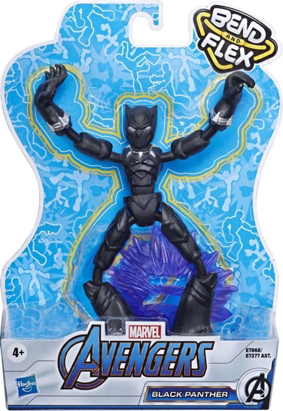 Bend and Flex - Black Panther - Avengers - Marvel - 2020