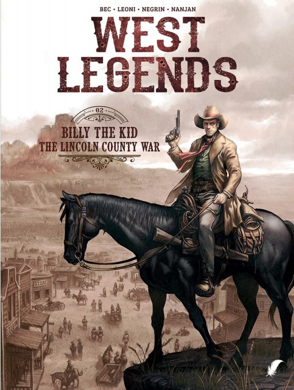 PRE-order - West Legends - Deel 2 - Billy the Kid, The Lincoln county War - softcover - 2021 - Nieuw!