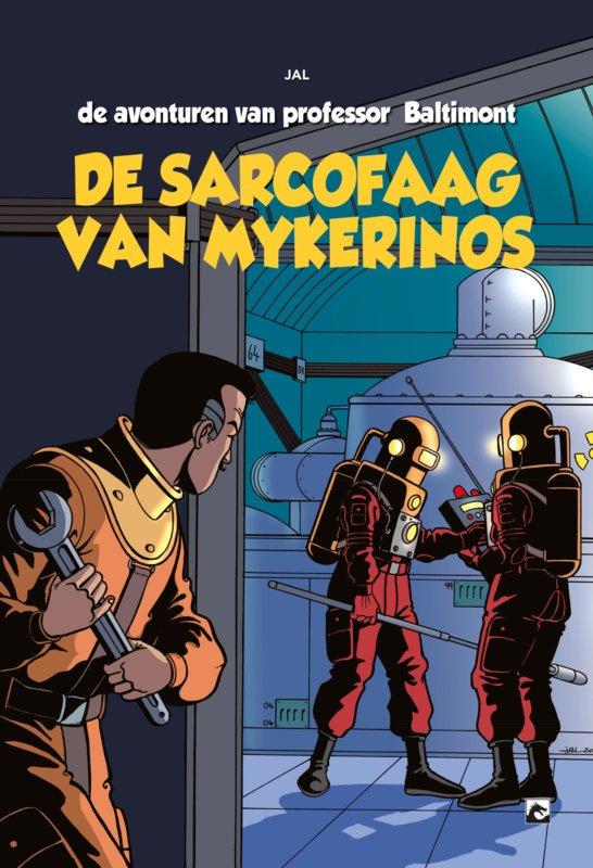 PRE-order - De avonturen van professor Baltimont - deel 1 - De Sarcofaag van Mykerinos - hc - 2021 - NIEUW!