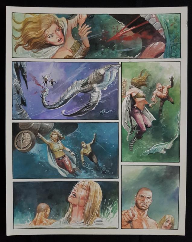 Apriyadi Kusbiantoro - originele pagina in kleur - Saul - deel 2 - Eindstation - pagina 5 - 2019