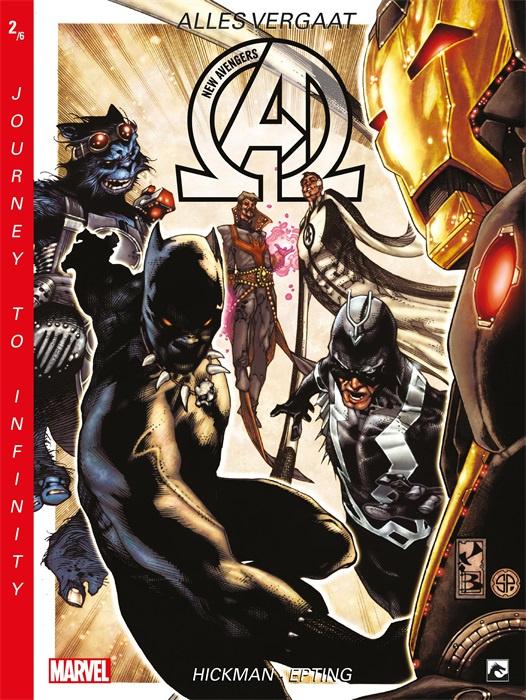 Marvel New Avengers - Journey Infinity -  deel 2 Alles vergaat- sc - 2020 - NIEUW!