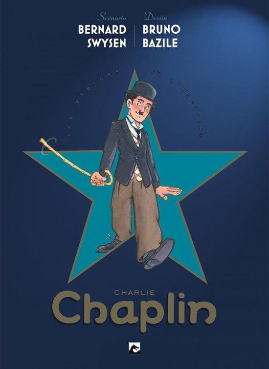 PRE-order - Charlie Chaplin - Sterren van de geschiedenis - hc - 2021 - NIEUW!