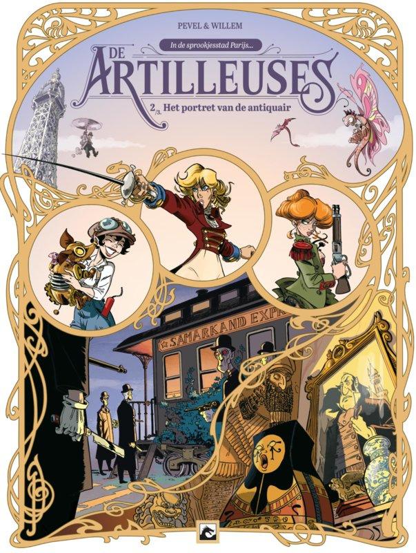 PRE-order - Artilleuses - Het portret van de Antiquair - deel 2 - sc - 2021 - Nieuw!