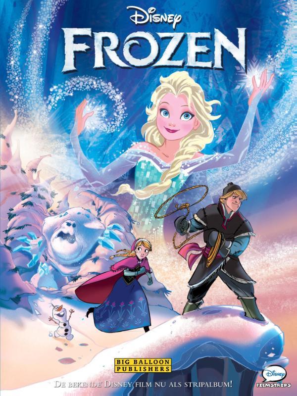 Frozen 1 - het verhaal van de film - deel 1 - hc - 2015