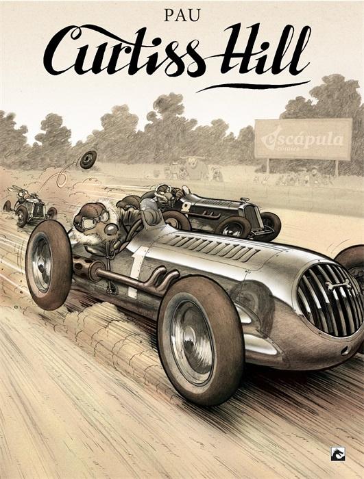 PRE-order - Curtiss Hill - hc - 2021 - NIEUW!