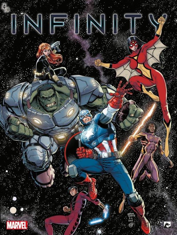 PRE-order - Marvel New Avengers -  Infinity -  deel 4  - sc - 2021 - NIEUW!