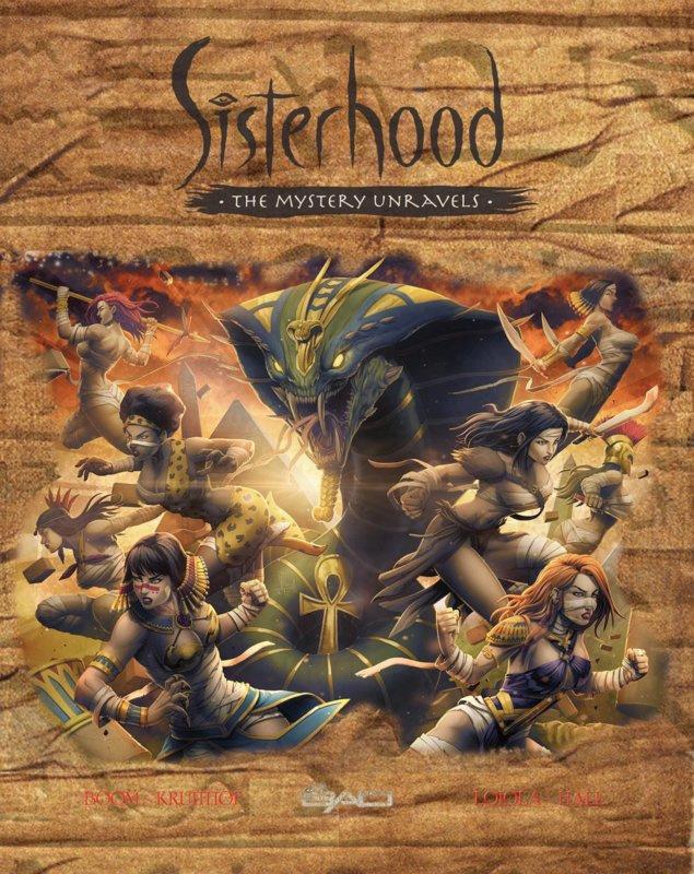 PRE-order - Sisterhood - The Mystery Unravels - extra art-print - NL versie - sc - 2021 - Nieuw!
