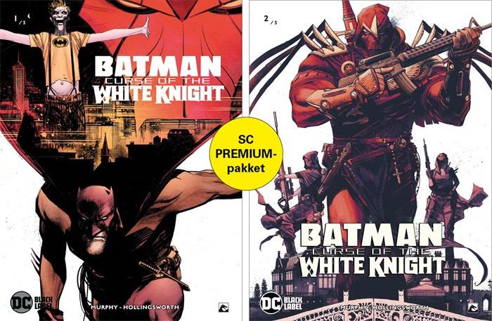PRE-order - Batman - Curse of the white knight - delen 1 en 2  premiumpack - DC Blacklabel - sc - 2021 - Nieuw!
